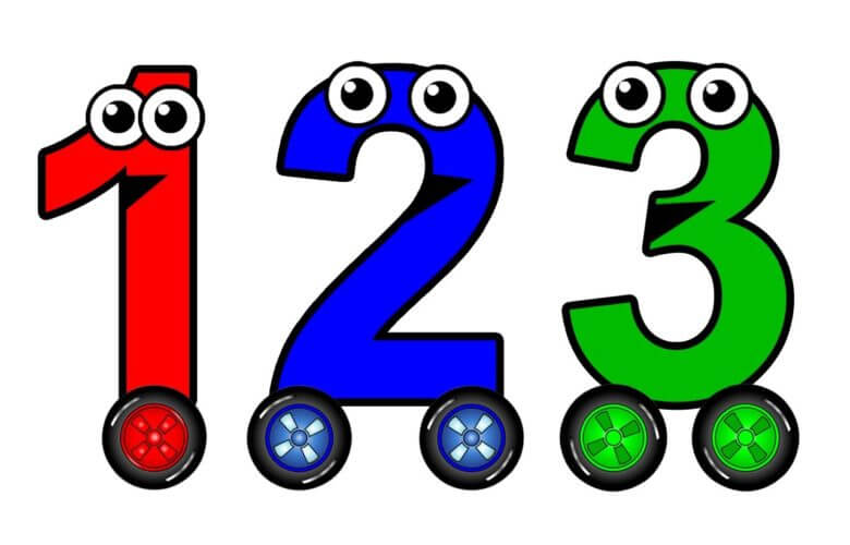 تعليم الأرقام للأطفال الروضة