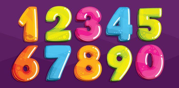 تعليم كتابة الأرقام العربية للأطفال