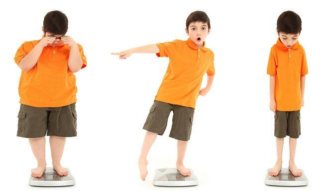 حساب كتلة الجسم للأطفال