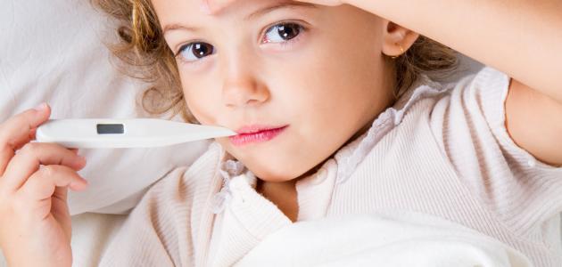 درجة الحرارة الطبيعية للأطفال