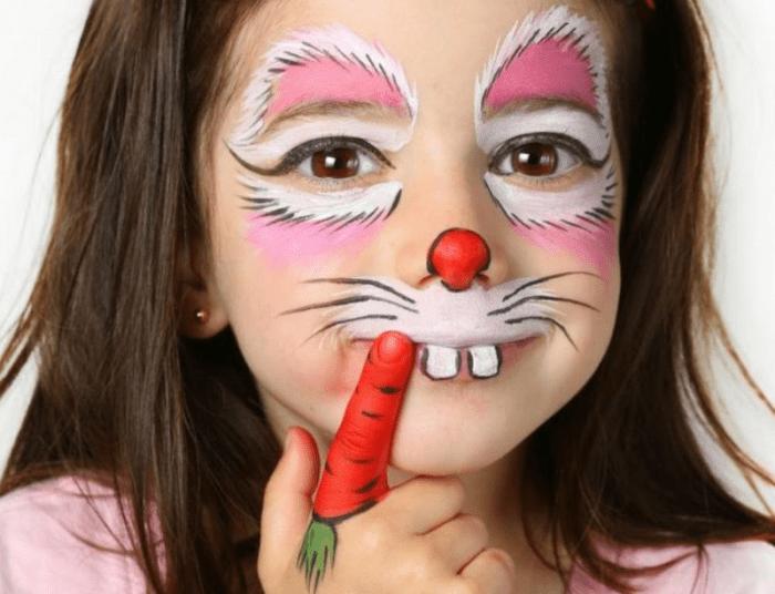 رسم على الوجه للأطفال