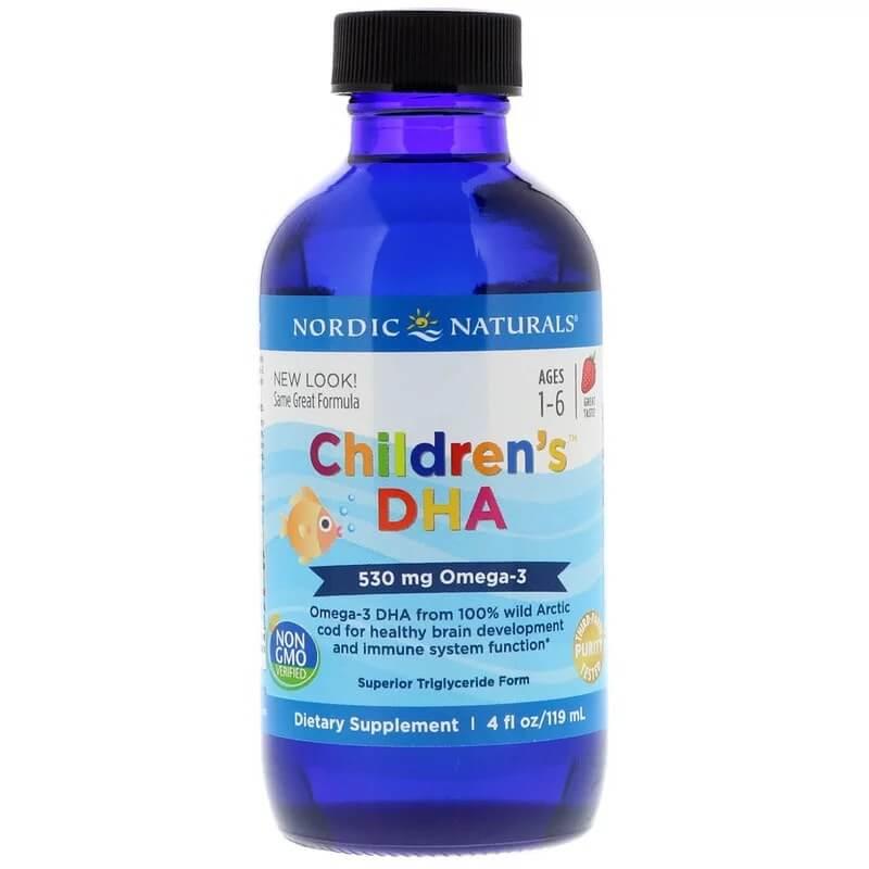 شراب اوميغا 3 للأطفال