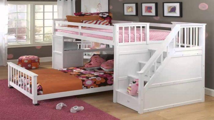 غرف النوم ذات طابقين موديلات حديثة