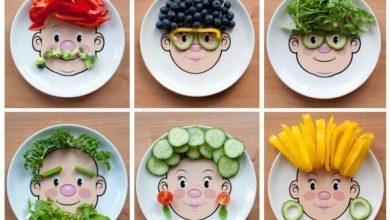 قصة عن الطعام الصحي للأطفال