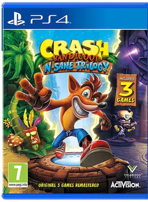 لعبة Crash Bandicoot N.Trilogy