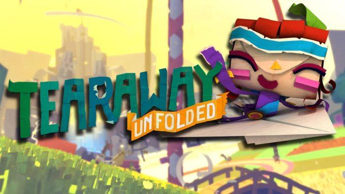 لعبة Tearaway unfolded