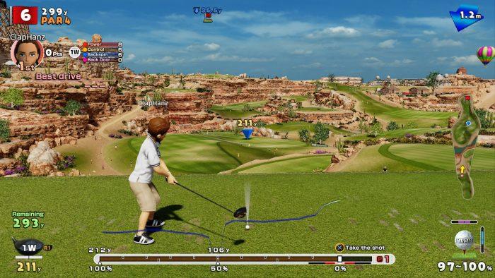 لعبة everybody's golf