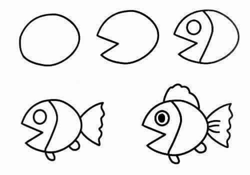 رسومات فنية سهلة للأطفال