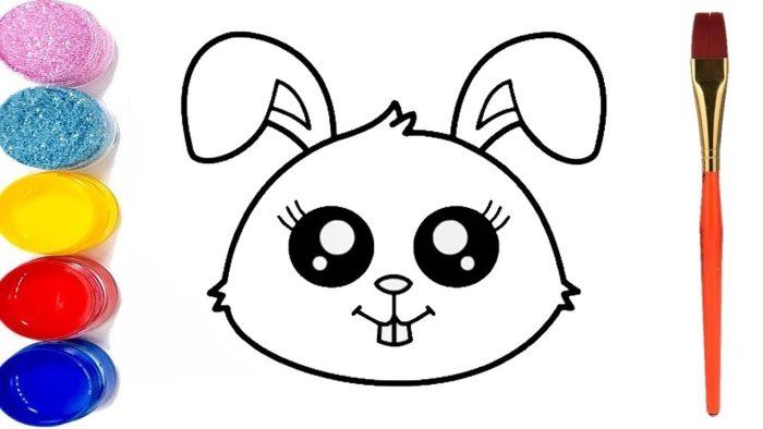رسم أطفال سهل وجميل