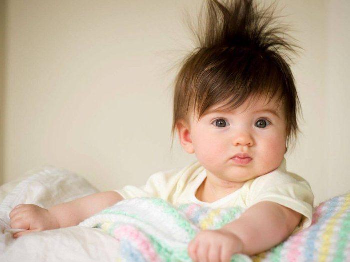 أفضل زيت شعر للأطفال الرضع