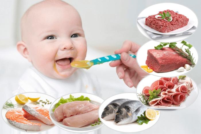 أكلات طفل 6 شهور