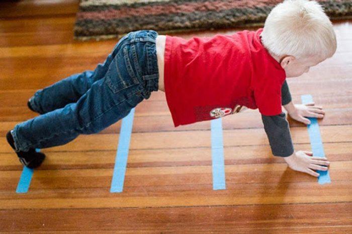 افكار للعب مع الأطفال في المنزل