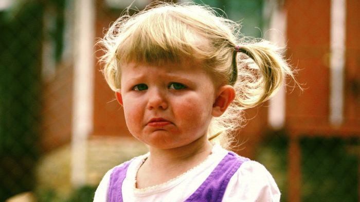 البكاء عند الأطفال 3 سنوات
