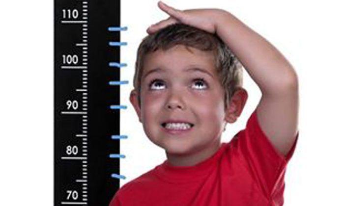 الحد الأدنى لطول الأطفال
