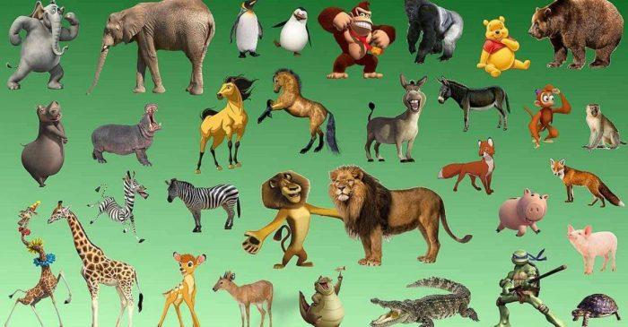 الحيوانات الأليفة والمفترسة للأطفال