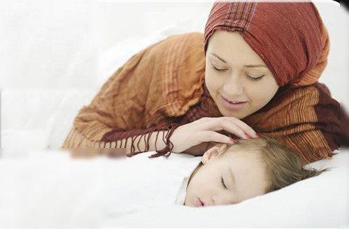 تحصين الأطفال عند النوم