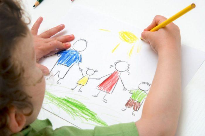تحليل رسم الطفل لوالديه