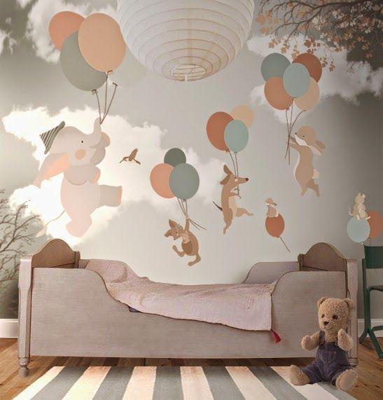 تزيين غرفة الطفل بورق الحائط