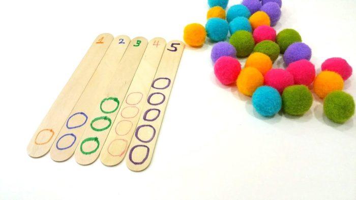 تعليم الأرقام للأطفال من 1 إلى 100 عن طريق الألعاب التعليمية