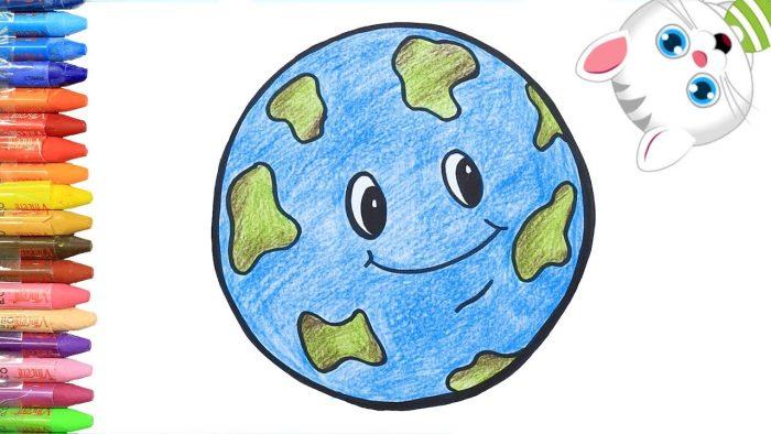 دوران الأرض حول الشمس للأطفال