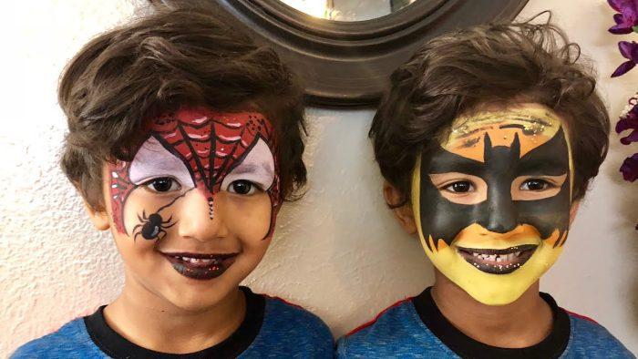رسم على الوجه بسيط للأطفال