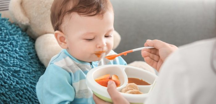 زيادة وزن الرضيع بسرعة