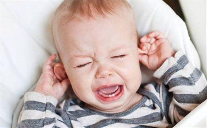 علاج التهاب الأذن للأطفال