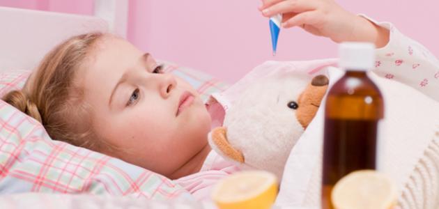 علاج الحمى عند الأطفال بالخل