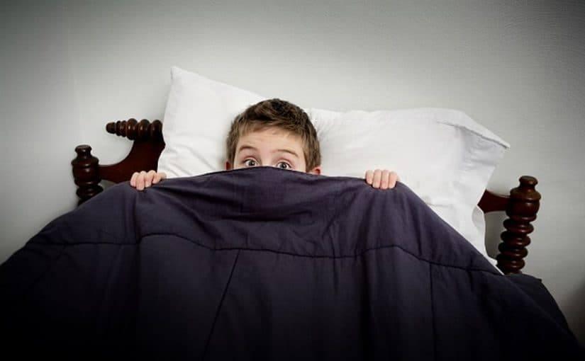 علاج الخوف عند الاطفال عند النوم