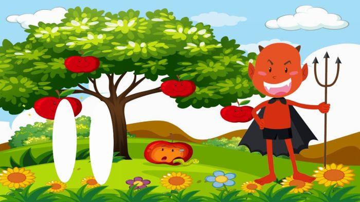 قصة آدم وحواء للأطفال