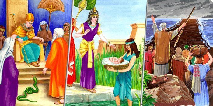 قصة موسى عليه السلام مختصرة للأطفال
