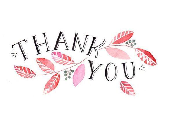 كلمة شكر للمدرسة والمدرسين