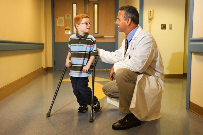 مرض شلل الأطفال فطحل