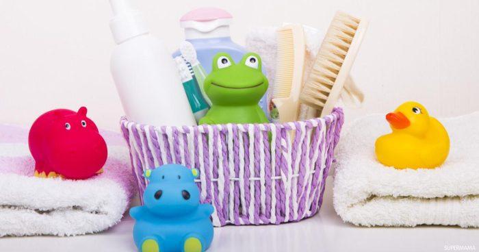 مستلزمات النظافة الشخصية للمولود