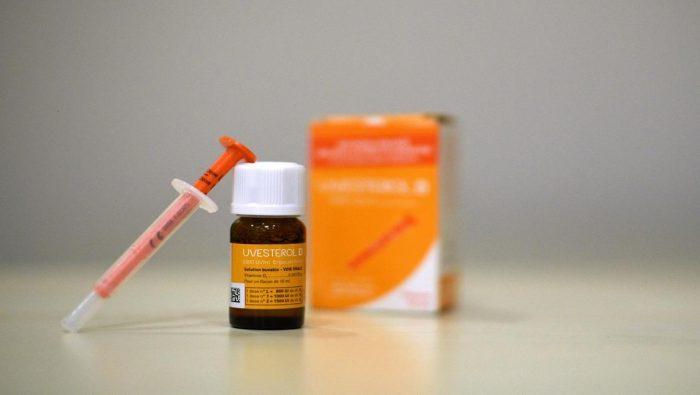 نسبة فيتامين د للأطفال