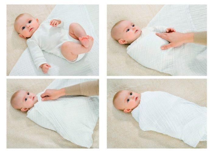 نوم الطفل في الشهر الثاني
