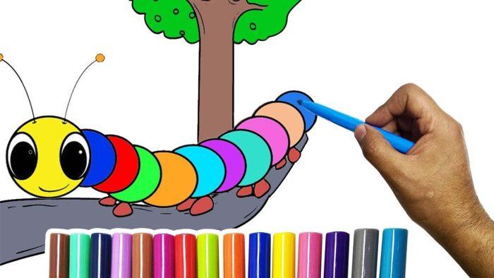 رسومات أطفال تعليمية ملونة