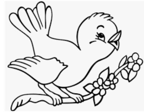 رسومات أطفال للتلوين حيوانات