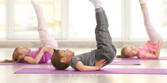 تمارين رياضية للأطفال بالصور