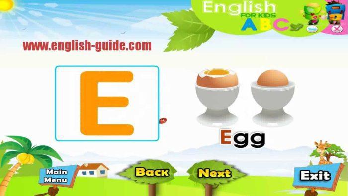 برامج تعليم اللغة الإنجليزية للأطفال