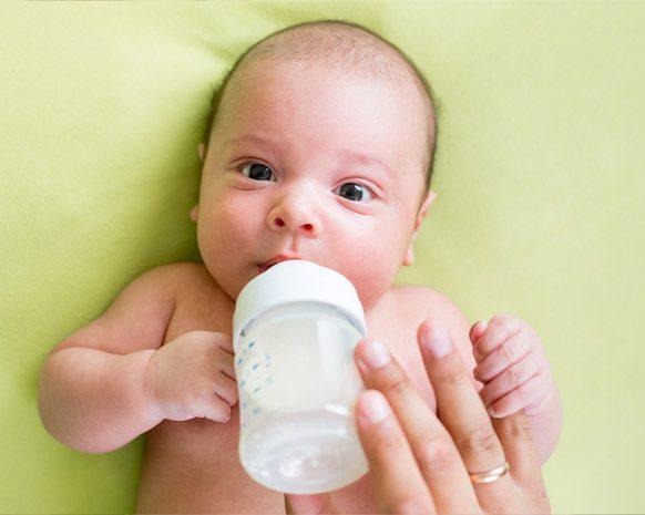 قلة شرب الحليب عند الرضع
