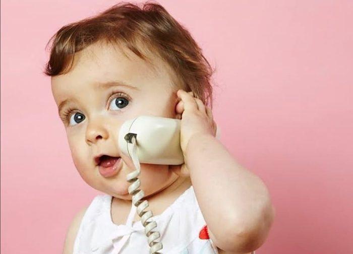 الكلام عند الأطفال سنتين