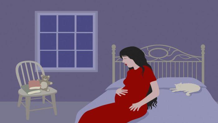ابني ضربني في بطني وانا حامل في الشهر الثالث