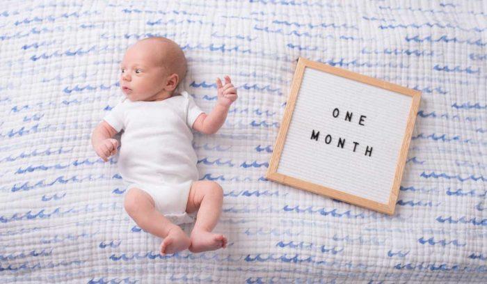 الطفل حديث الولادة في الشهر الأول