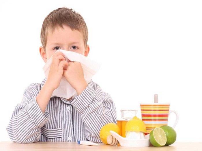 علاج نزلات البرد عند الأطفال