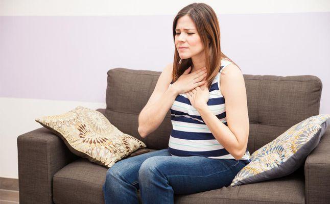 هل الخفقان يؤثر على الجنين