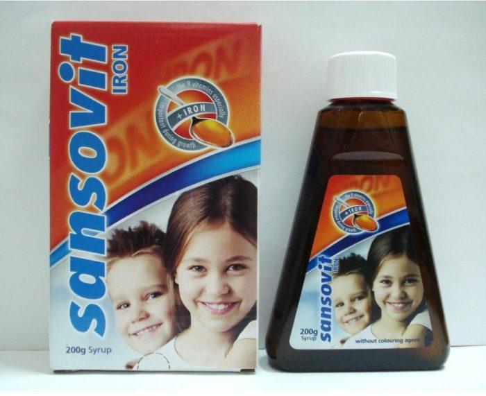 فيتامين سانسوفيت للأطفال