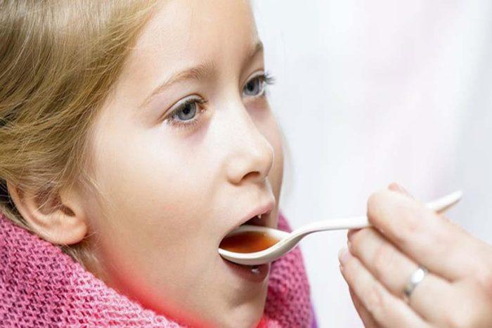 علاج نزلات البرد والكحة عند الأطفال