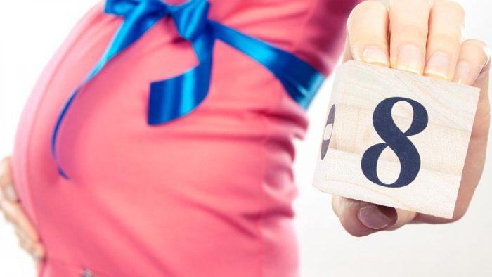 وزن الجنين في الشهر الثامن 3 كيلو