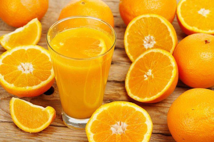 الوحم على البرتقال